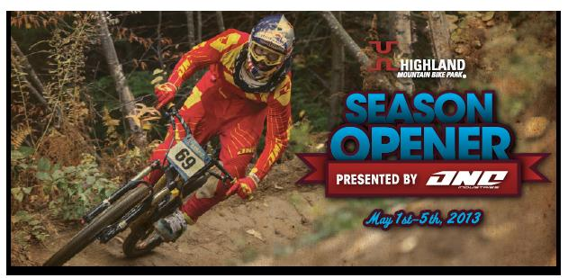 Highland Bike Park Opens Today!