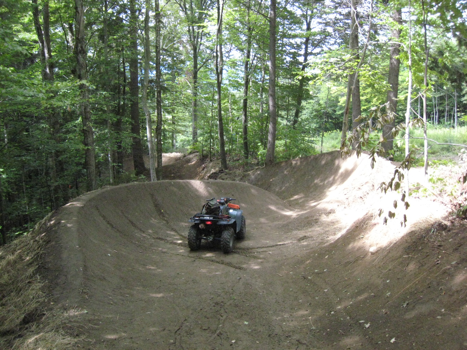 Jester Trail at Burke Bike Park
