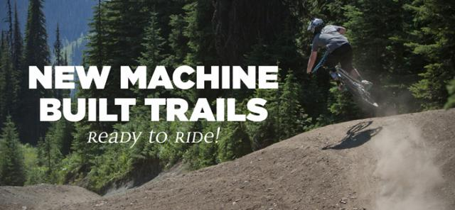 New Machine Built Trails