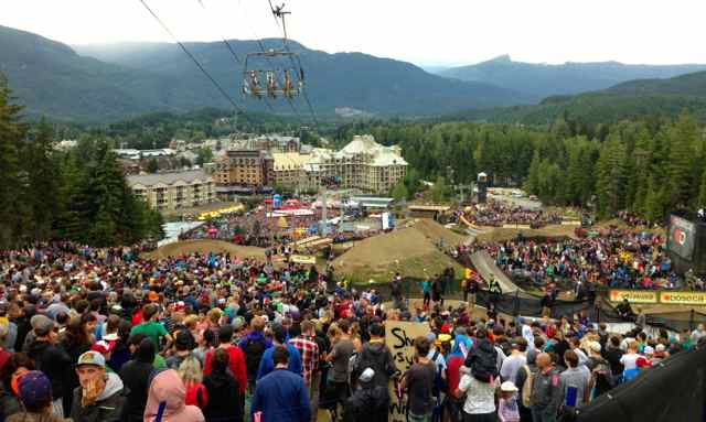 It all started with the Whistler Bike Park.