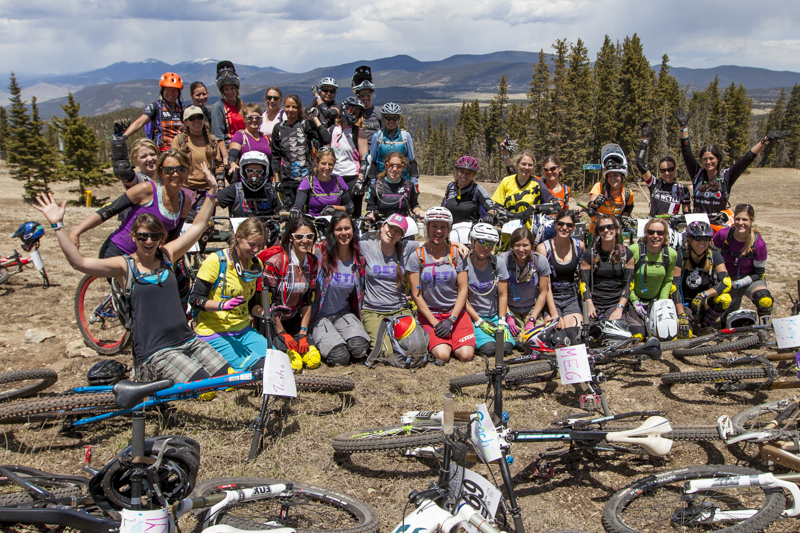 2014 Betti AllRide Clinic at Angel Fire Bike Park
