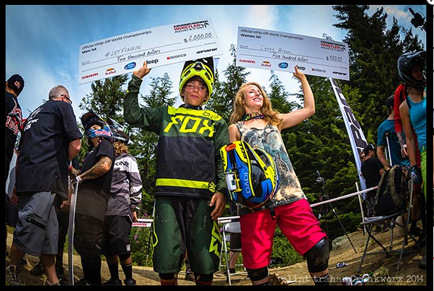 2014-Crankworx-Whip-Off-Champs Finn Iles & Casey Brown