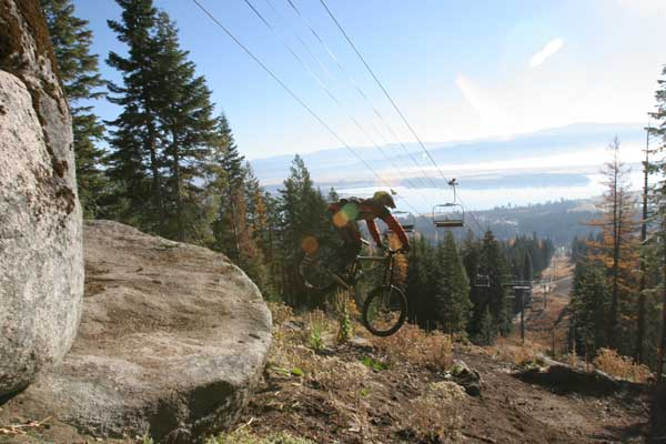 Lift Access Biking Rreturns to Tamarack Bike Park