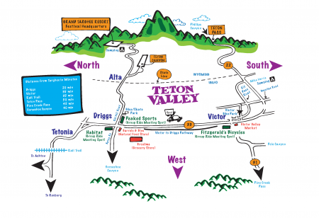 2014 wydaho bike fest map