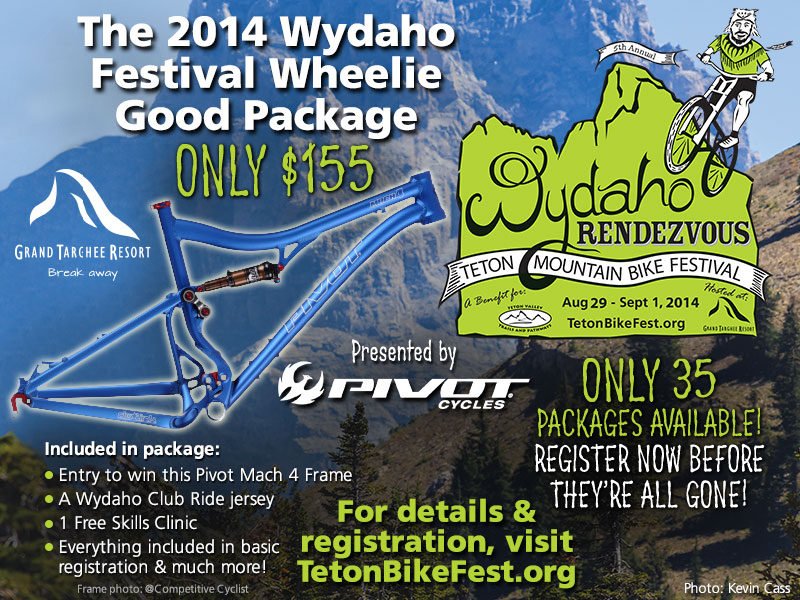 2014 wydaho rendezvous wheelie good package