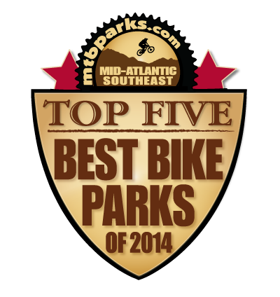 2015 BEST BIKE PARKS | SNOWSHOE BIKE PARK
