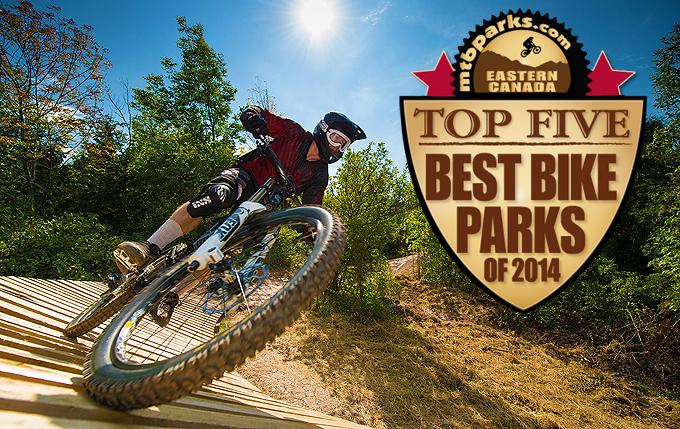 BLUE MOUNTAIN BIKE PARK TOP 5 BEST BIKE PARKS, EASTERN CANADA, RIDERS CHOICE AWARDS | MTBPARKS.COM
