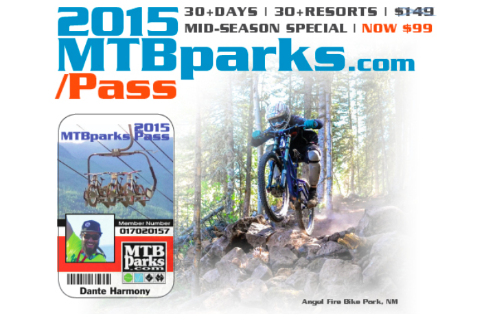 MTBPARKS PASS | FREE LIFT TICKETS | BIKE PARKS