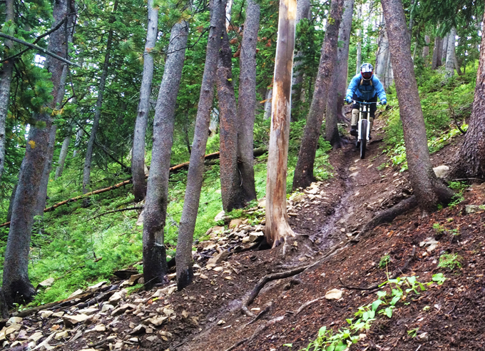 Big Sky Bike Park Imtermediate Trails
