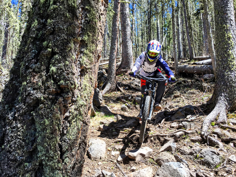 Angel Fire Bike Park - Upper Boogie | MTBparks