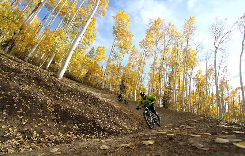 Summer Mountain Bike Riding at Deer Valley Resort Bike Park