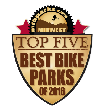 2016 Best Bike Parks Riders' Choice Awards Winner Fourth Place: Midwest | Crystal Mountain Bike Park