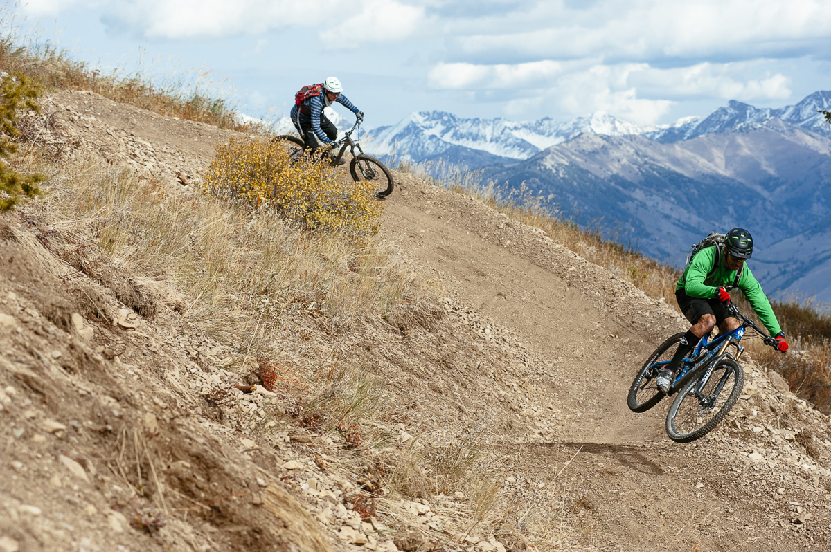 Sun Valley's new flow trails add variety to the area's offerings.