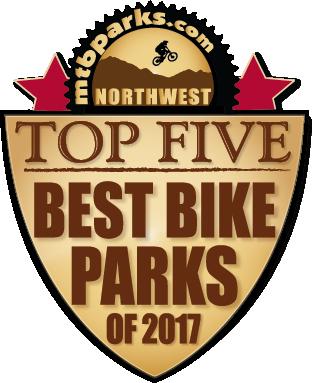 2017 Best Bike Parks Riders Choice Awards Third Place - Tamarack Bike Park