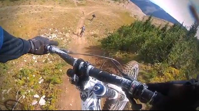 Biking at Big Sky can be ROWDY!