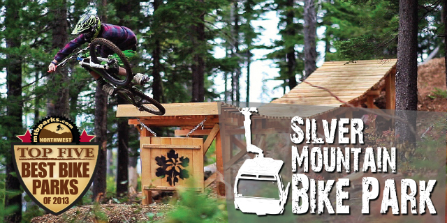 Ride FREE at Silver Mountain Idaho, one of the NW's Top Five Bike Parks with your MTBparks Pass.