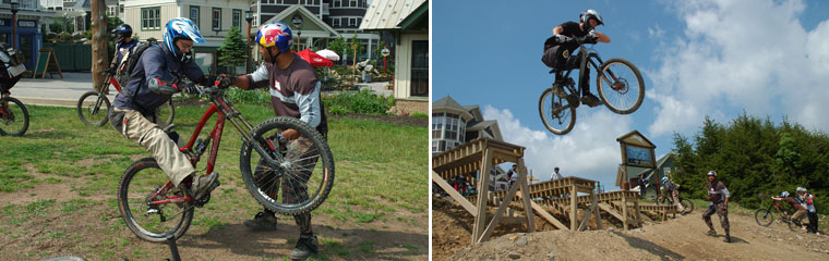 Mad March Racing Camps at Snowshoe Mountain Bike Park