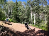 Steamboat Bike Park Rustler Ridge Trail