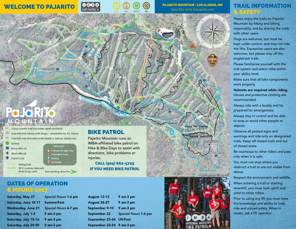 Pajarito Mountain on powder mountain map, deer mountain map, ascutney mountain resort map, titus mountain map, copper mountain map, mammoth mountain map, shirley mountain map, october mountain map, blue mountain ski area map, windham mountain map, bristol mountain map,
