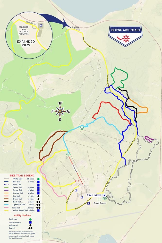 Boyne Mountain Bike Park