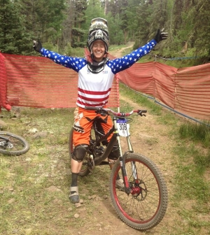 Kim Godfrey at Trestle's USAC Colorado State Championships