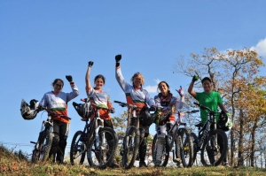 Ladies Shredding Mountain Creek with Dirt, Rock and Roots
