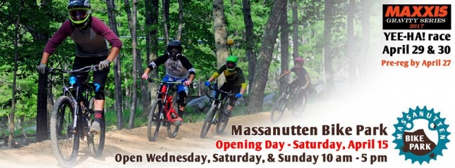 2017 OPENING DAY: Massanutten Bike Park
