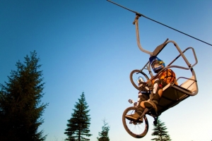 LAST CHAIR ALERT: Sugarloaf Bike Park