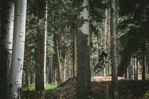 ANGEL FIRE BIKE PARK TRAILS: Upper and Lower Supreme DH - Advanced