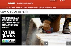 IN THE NEWS: Ski Area Management Publishes MTBparks.com Special Report