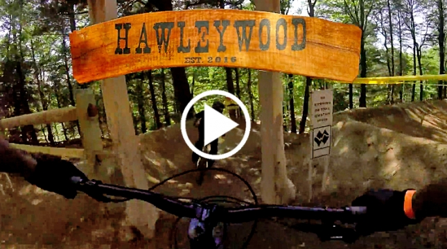 VIDEO: One Lap on Thunder Mountain's Expert Jump Trail 'Hawleywood' | MTBparks