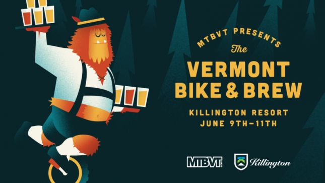 BIKE & BREW: Killington Teams Up with MTBVT For First Annual Event