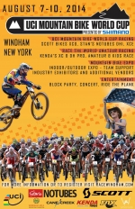 2014 UCI Mountain Bike World Cup Returns to Windham, NY
