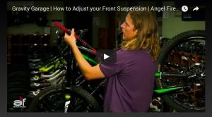 VIDEO: 'Gravity Garage | How to Adjust your Front Suspension' - Angel Fire Bike Park