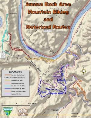 Amasa Back Trail Map