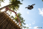 Semenuk sends it on his way to a slopestyle win.