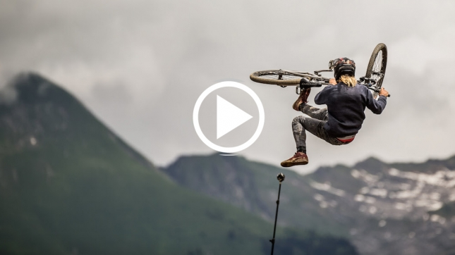 VIDEO: 'Crankworx 2016 - Stepping On The Podium' feat. Logan Peat