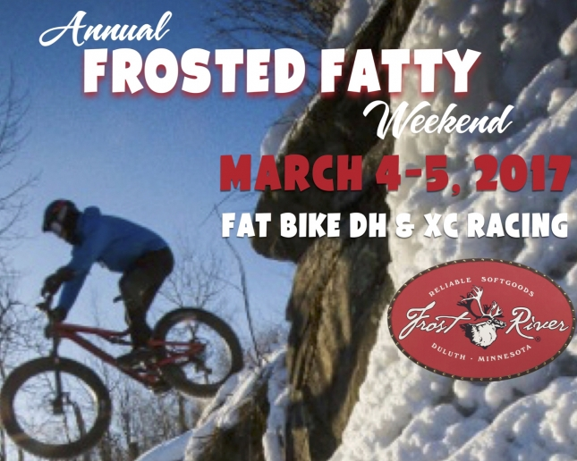 FROSTED FATTY: Spirit Mountain Announces Second Annual Snow DH Race