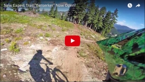 VIDEO: 'New Expert Trail Berserker Now Open!' - Stevens Pass