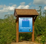 Whiteface's new flow trail, 'True Blue,' will drop 1,500 vertical feet when complete.