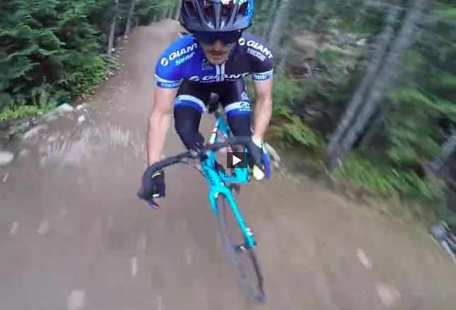 VIDEO: Railing Whistler's Dirt Merchant and A-Line on a Cyclocross Bike