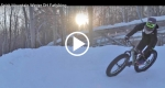 VIDEO: Winter Downhill Fat Biking Returns to Spirit Mountain