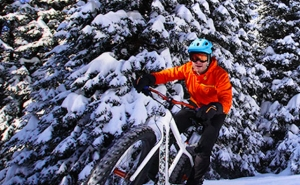 VIDEO | Evan Simula Shreds Grand Targhee's Snowpacked Singletrack on a Fatbike