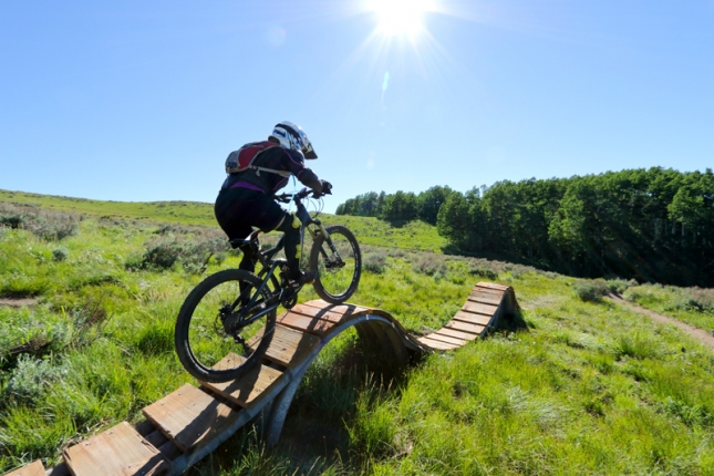 Deer Valley Resort has enlisted Gravity Logic, Inc. to improve its existing trail system.