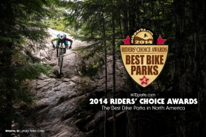 2014 RIDERS' CHOICE AWARDS: MTBparks Announces North America's Best Bike Parks