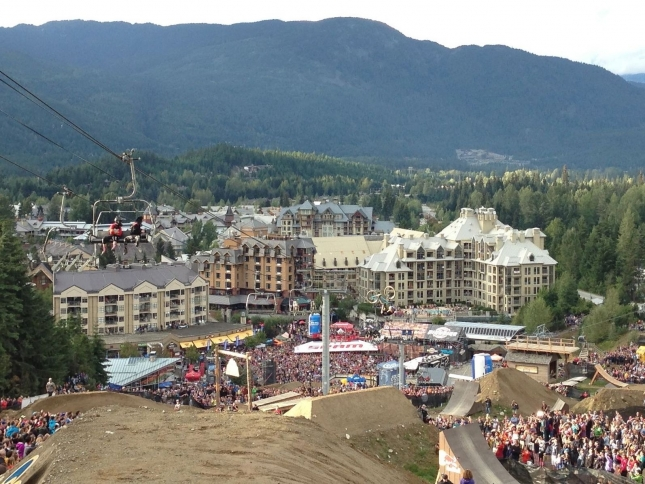 Red Bull Joyride at Crankworx