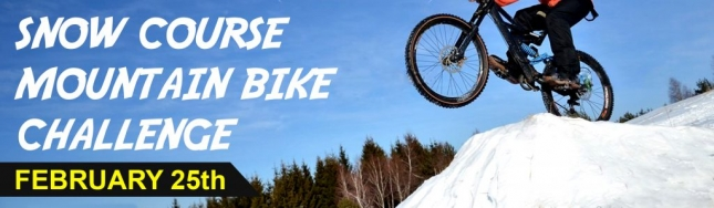 SNOW COURSE MOUNTAIN BIKE CHALLENGE @ SUNRISE | MTBparks.com
