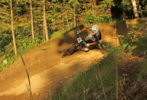 Berms, turns and more at Burke Bike Park