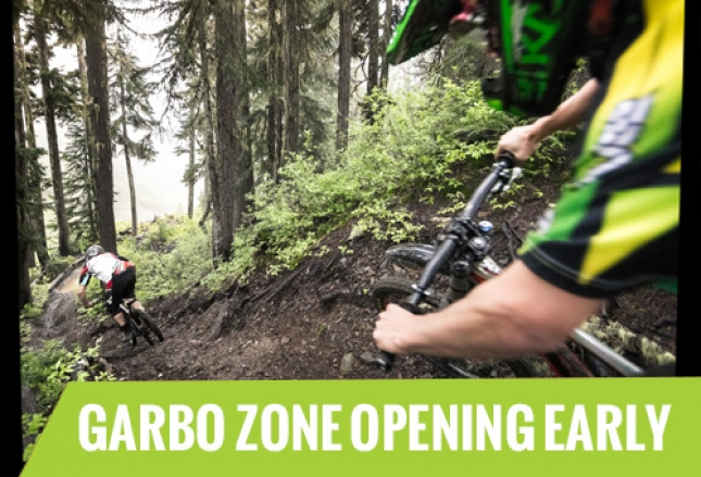 The Garbo Zone is set to open a week early.