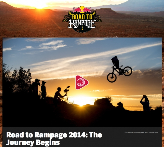 2014 Road to Rampage Begins